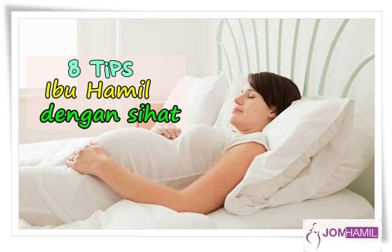 8 tips ibu hamil